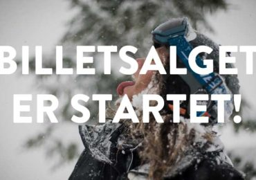PROGRAMMET ER OFFENTLIGGJORT & BILLETSALGET I GANG!