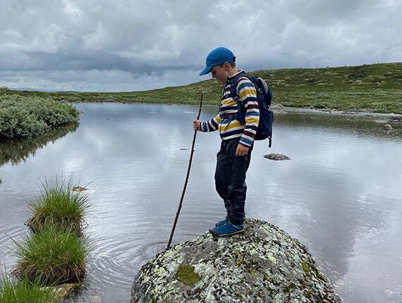 Friluftsrollinger – på vandretur i fjeldet